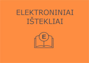 Elektroniniai ištekliai