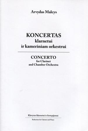 Koncertas klarnetui ir kameriniam orkestrui