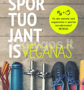 Sportuojantis veganas
