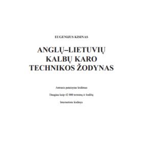 Anglų-lietuvių kalbų karo technikos žodynas