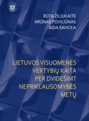 Lietuvos visuomenės vertybių kaita per dvidešimt nepriklausomybės metų