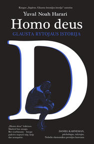 Homo Deus : glausta rytojaus istorija