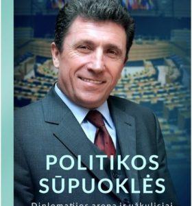 Politikos sūpuoklės : diplomatijos arena ir užkulisiai