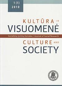 Kultūra ir visuomenė: socialinių tyrimų žurnalas