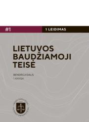 Lietuvos baudžiamoji teisė. Bendroji dalis. Kn. 1