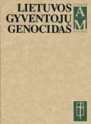 Lietuvos gyventojų genocidas. T. 5: 1950–1953 : A–M